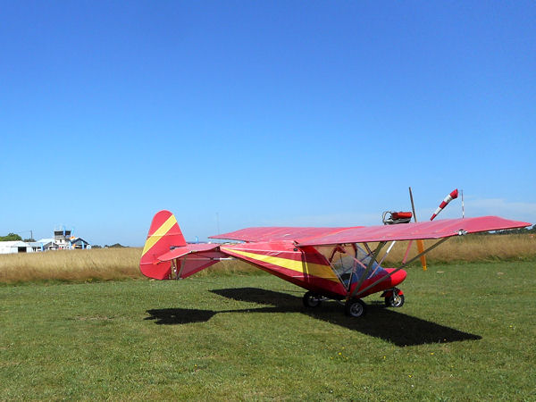 Weedhopper 28AAD at Sarlat-Domme