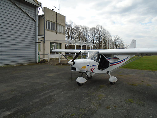 ICP Savannah MXP 740 at Issoudun
