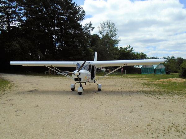 ICP Savannah MXP 740 at Fleurac