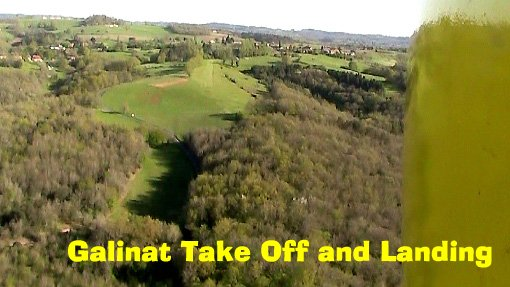 Galinat Take Off and Landing