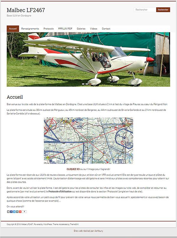 Malbec 2467 web site