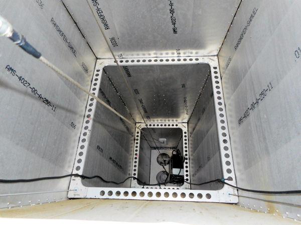 ICP Savannah fuselage interior